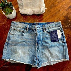 NWT GAP Denim Cut-Off Shorts